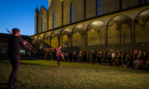Interview with Genius Loci, Festival di Santa Croce a Firenze