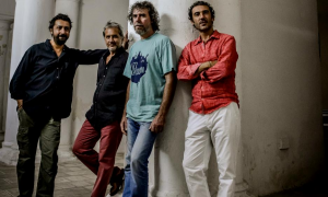 Interview with Daniele di Bonaventura Band'Union al Teatro dell'Opera Hannover