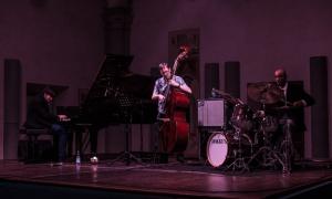 Interview with Alessandro Lanzoni Trio alla Sala Vanni di Firenze
