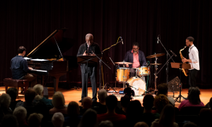 Interview with Balance with Gerald Cleaver and Bill Harris at the Detroit Public Library