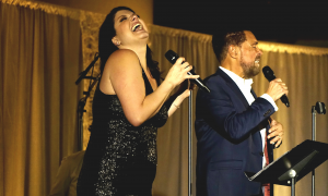 Read Jane Monheit & Clint Holmes At Jazz For All Ages