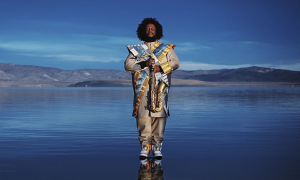Read Kamasi Washington at Academic Community Hall of Hong Kong Baptist University