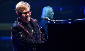 Read Elton John at the FedEx Forum