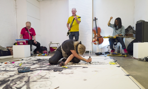 Jazz article: Some Loose Assemblies 2 at the Hundred Years Gallery