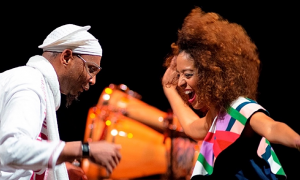 "Omar Sosa & Yilian Cañizares Music Video ""Oshun"" From The CD Aguas"