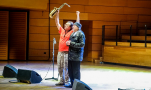 Interview with John Zorn & Bill Laswell a JazzMi 2018