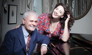 Jazz article: Take Five with Terry Waldo and Tatiana Eva-Marie