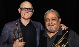 Jazz article: East-West Trumpet Summit at Meydenbauer Center Theatre