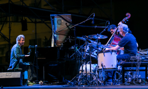 Interview with Chick Corea Akoustic Band a Firenze