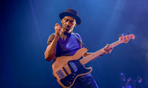Read Marcus Miller at Academic Community Hall of Hong Kong Baptist University