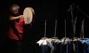 Jazz article: A Different Drummer, Part 3: Pino Basile & Mizuki Wildenhahn