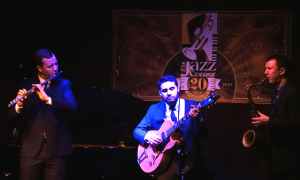 The Peter And Will Anderson Trio At The Jazz Corner