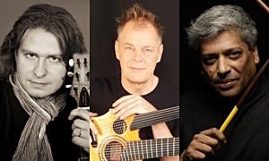 'New Shapes' Joint Album By Guitar Virtuosos Roman Miroshnichenko & Henrik Andersen Featuring Percussionist Trilok Gurtu