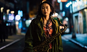 Experience Midnite Cinema With Ayumi Ishito April 26th & Come Out To The Release Party May 17th!