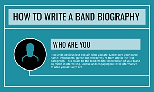 How To Write A Great Band Bio [INFOGRAPHIC]