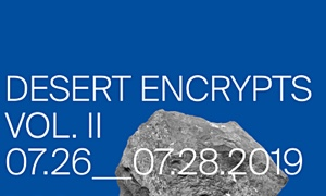 Rob Mazurek's Desert Encrypts, a 3-Day creative music and visual art event scheduled for July 26-28th in Marfa, TX