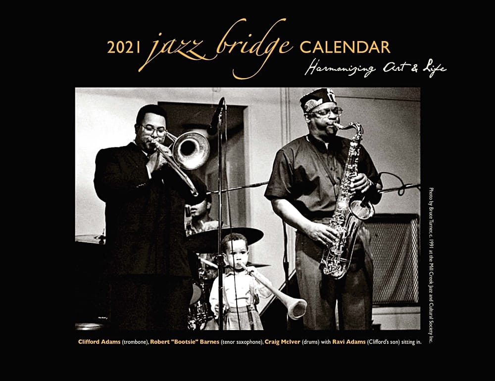 Become a Jazz Bridge Calendar Sponsor!