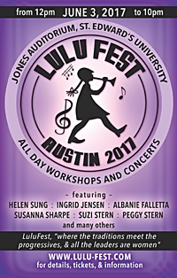 1st Annual LuluFest, Presented By Peggy Stern In Austin, TX June 3, Features Women-Led Bands