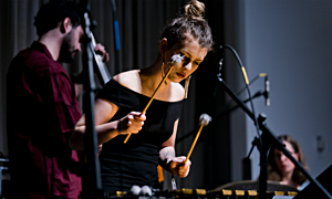 Percussionist Sasha Berliner  Wins Seven-City Jazz Festival Tour