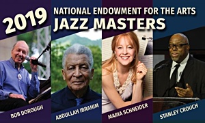 2019 NEA Jazz Masters Will Be Celebrated at Free Concert on April 15, 2019 in Washington, DC