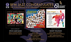 Los Angeles Based Independent Jazz Label, BFM Jazz, Wins Five Grammys