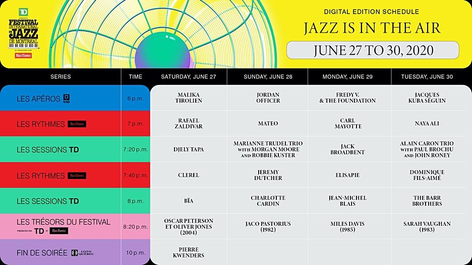 Festival International De Jazz De Montréal reveals All-Star Line Up For The Special All Digital Edition