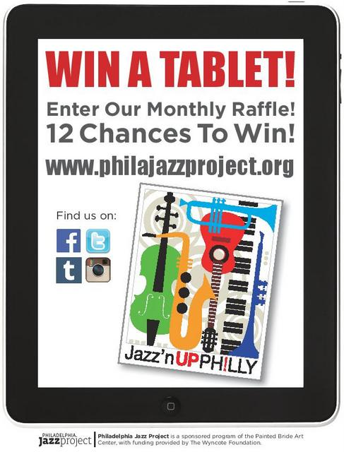 Win A Free Tablet Courtesy Of The Philadelphia Jazz Project!