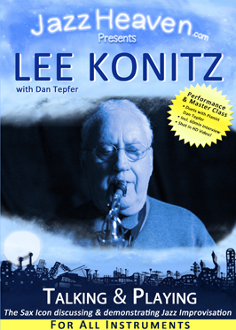 """Lee Konitz With Dan Tepfer """"Talking & Playing"""" Instructional Video Released By JazzHeaven.com"""