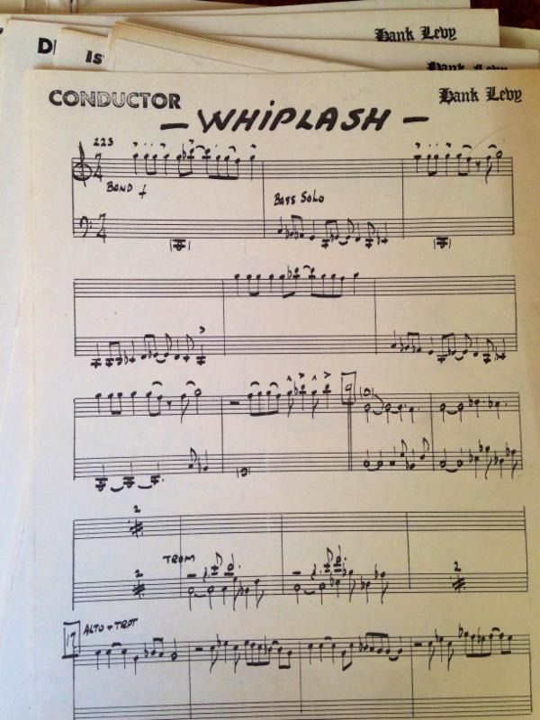 "New Recording Of Hank Levy's ""Whiplash""  Releases October 6 With Original Performers"