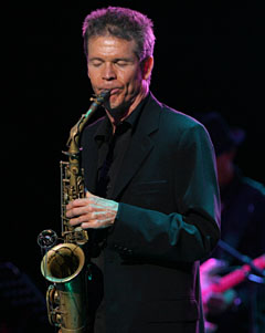 Legendary Jazz Icon David Sanborn is Paid Tribute by Sax Great Alfonzo Blackwell and Many Other Music Stars for the Canadian Smooth Jazz Awards Show in 2010