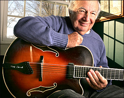 Bucky Pizzarelli Performs Live at Division Street Grill on January 2nd