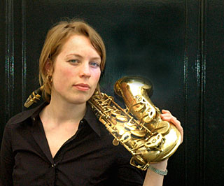 "Acclaimed Dutch Saxophonist Tineke Postma to Showcase New CD ""The Traveller"" at the Blue in NYC Monday February 22 at 8 & 10:30 P.M."