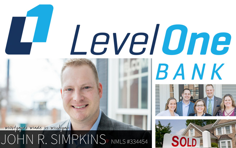John Simpkins - Level One Bank Mortgage Lending