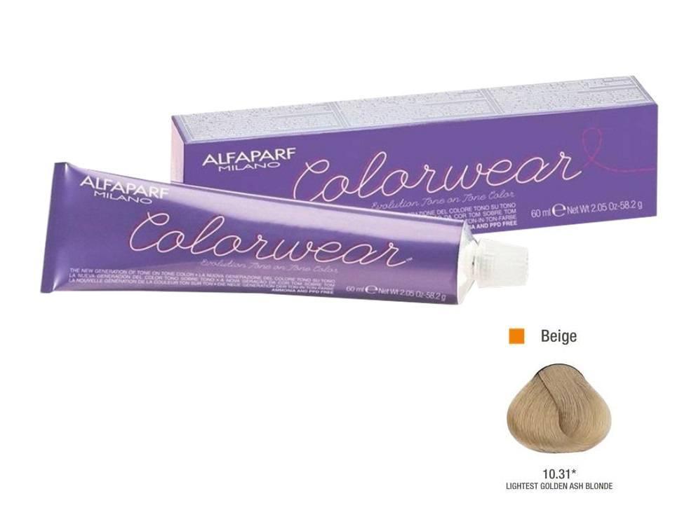 Alfaparf Coloração Colorwear 10.31 60ml New Bra