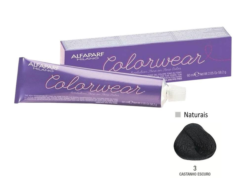 Alfaparf Coloração Colorwear 3 60ml New Bra