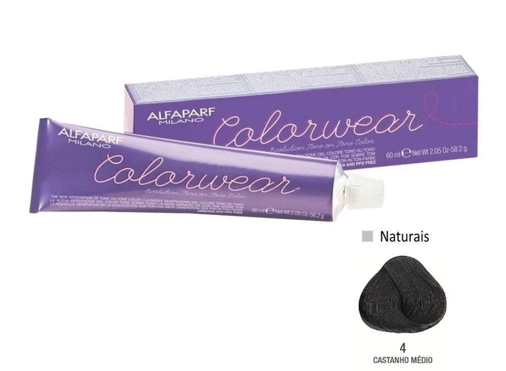 Alfaparf Coloração Colorwear 4 60ml New Bra