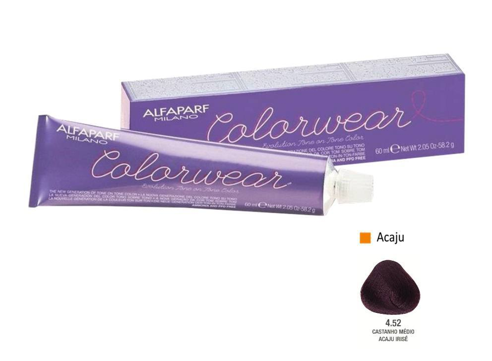 Alfaparf Coloração Colorwear 4.52 60ml New Bra