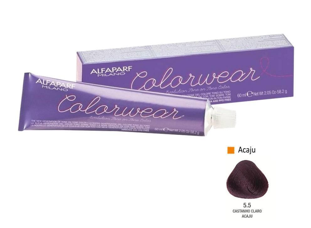 Alfaparf Coloração Colorwear 5.5 60ml New Bra