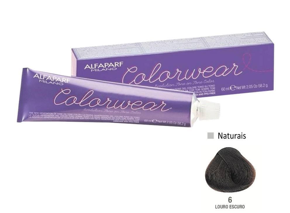 Alfaparf Coloração Colorwear 6 60ml New Bra