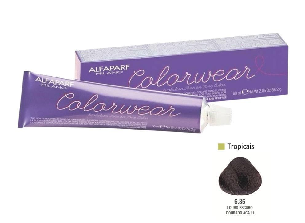 Alfaparf Coloração Colorwear 6.35 60ml New Bra