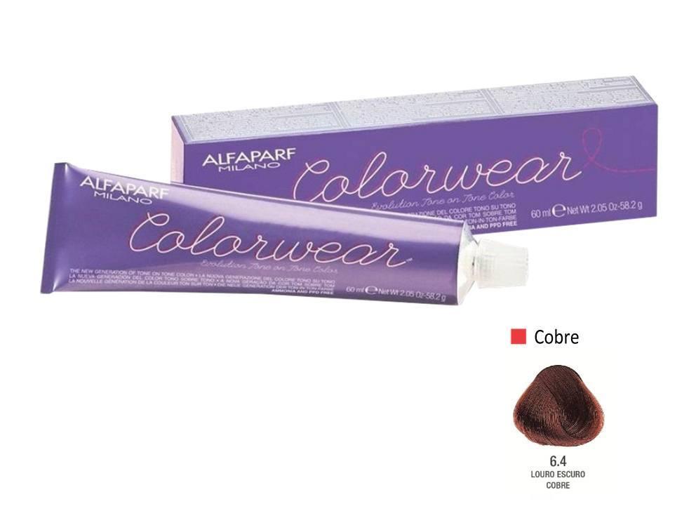 Alfaparf Coloração Colorwear 6.4 60ml New Bra