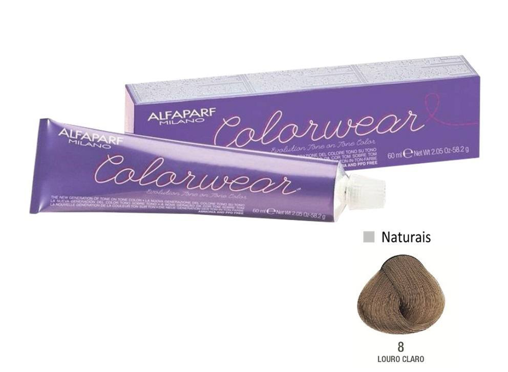 Alfaparf Coloração Colorwear 8 60ml New Bra