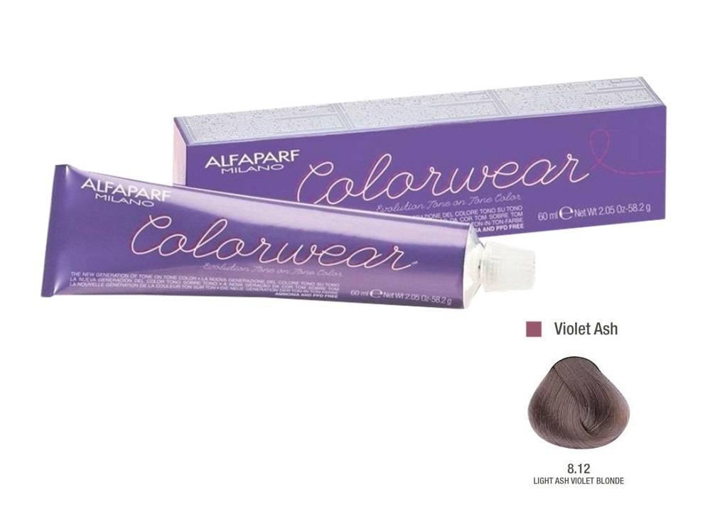 Alfaparf Coloração Colorwear 8.12 60ml Bra