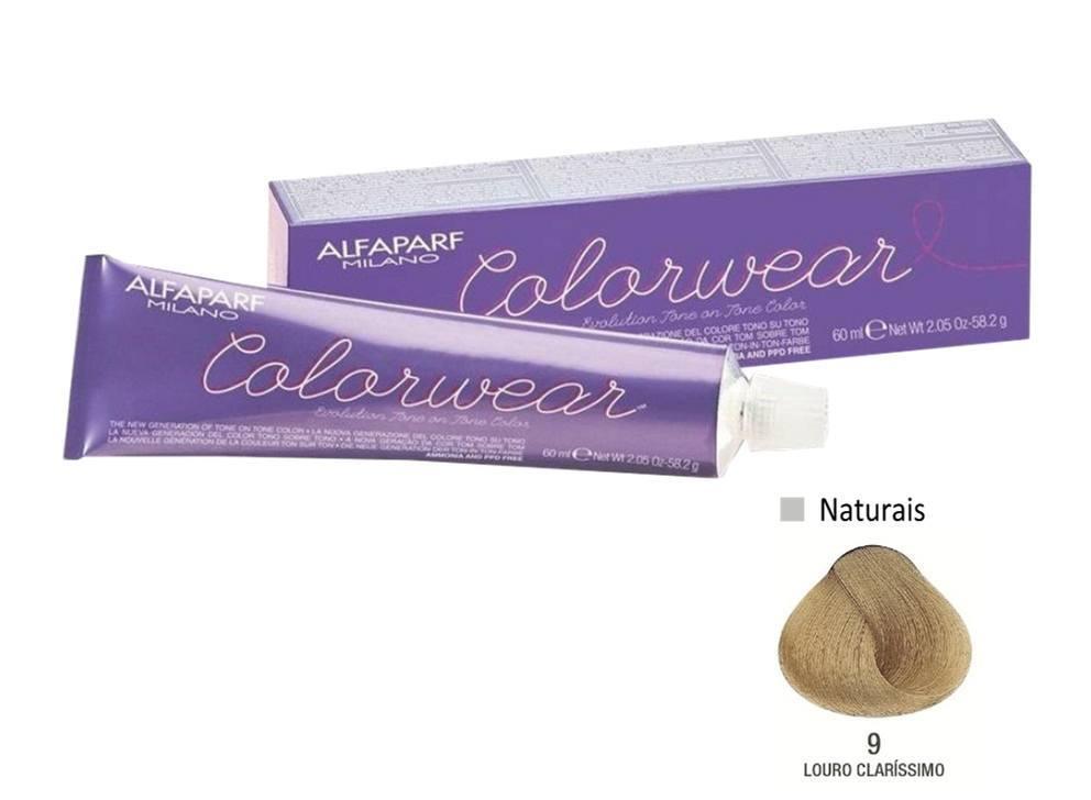 Alfaparf Coloração Colorwear 9 60ml New Bra