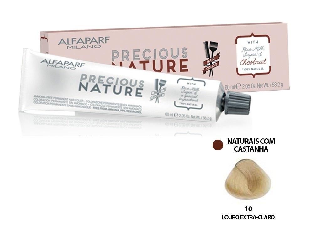 Alfaparf Coloração Precious Nature Hair Color 10 60 ml