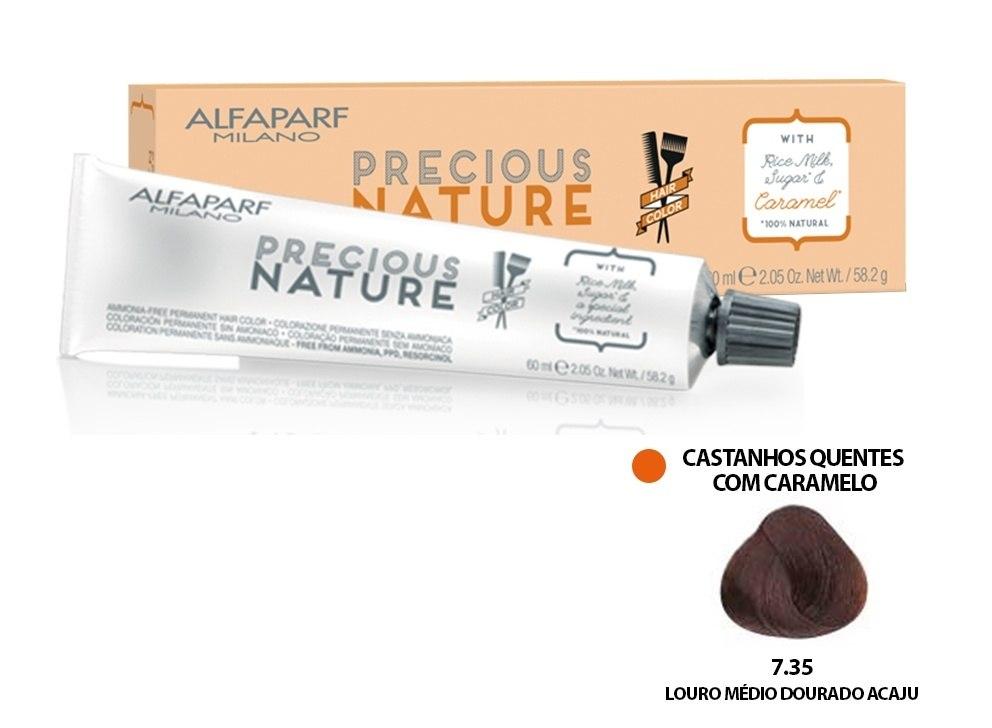 Alfaparf Coloração Precious Nature Hair Color 7.35 60 ml