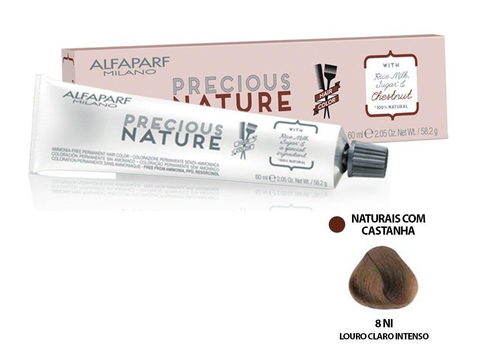 Alfaparf Coloração Precious Nature Hair Color 8 Ni 60 ml