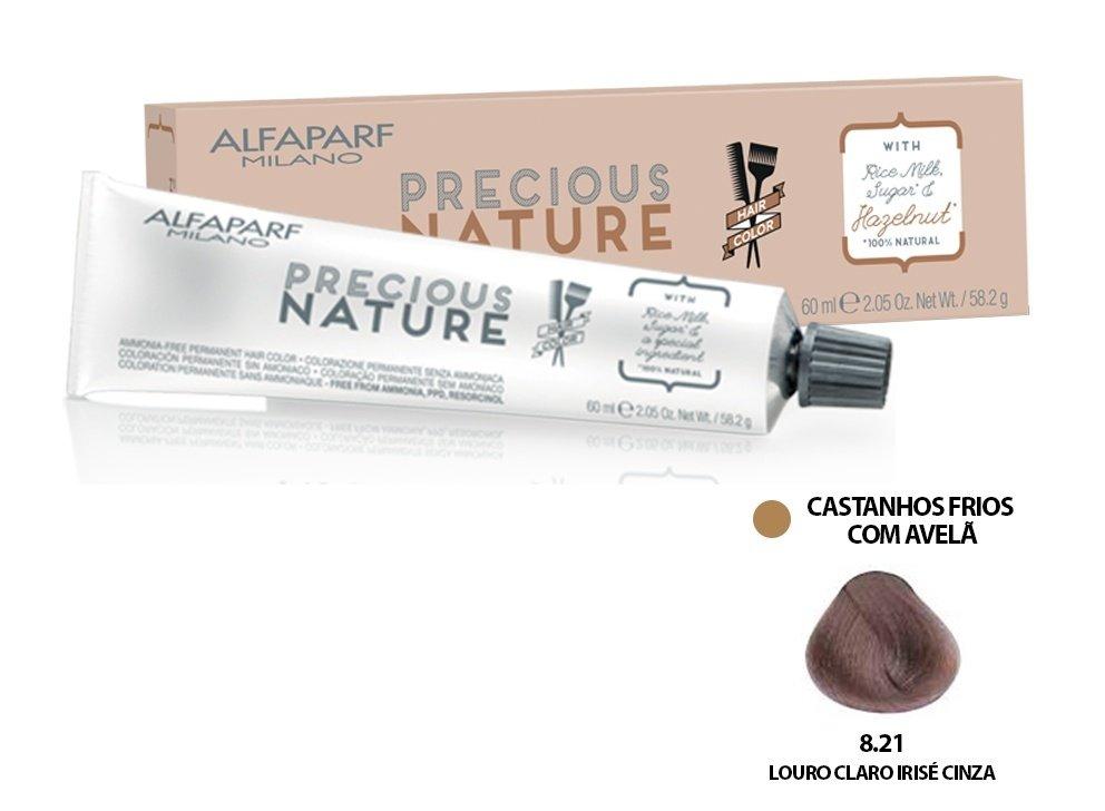 Alfaparf Coloração Precious Nature Hair Color 8.21 60 ml