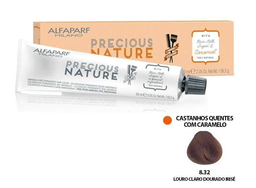 Alfaparf Coloração Precious Nature Hair Color 8.32 60 ml