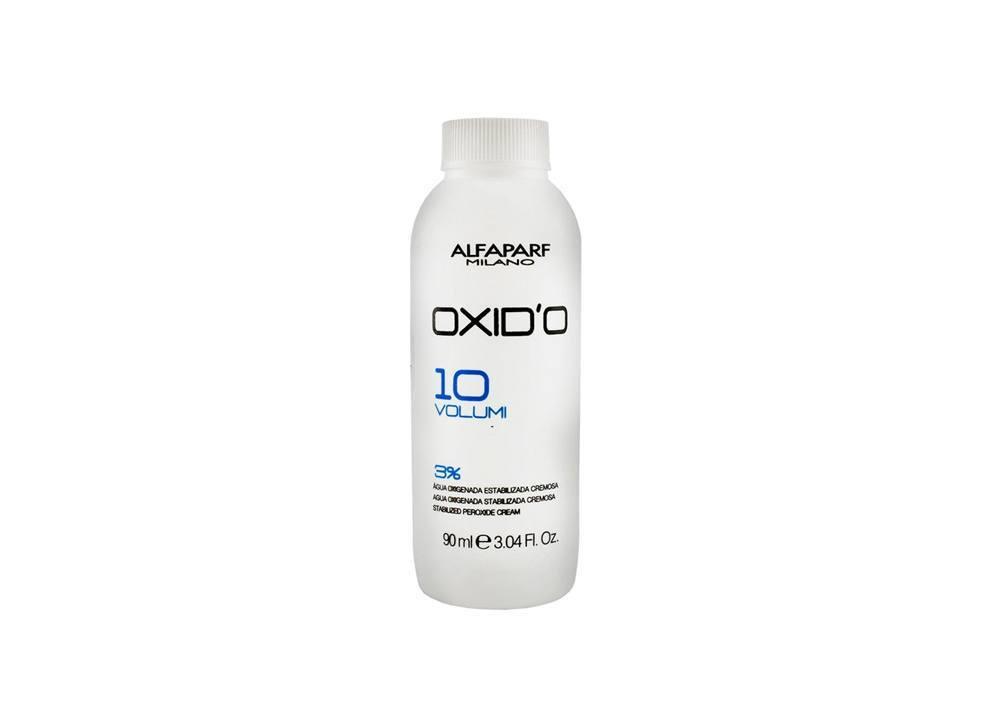 Alfaparf Oxid'O H202 Oxigenada Estabilizada Cremosa  10Vol 90ml